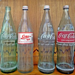 botellas coca-cola